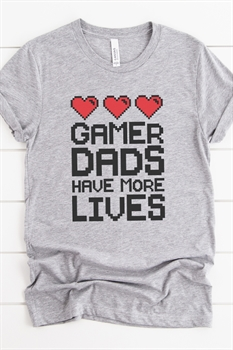 Picture of Gamer Dad Graphic Tee
