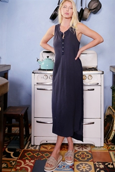 Picture of Long Button Dress