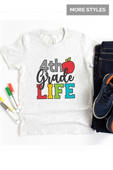 Picture of School Life Graphic Tees (Youth)